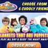Cuddle Uppets Hot New Blanket Puppet for Kids offer kids-stuff