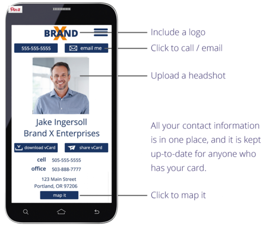 Stop Using Printed Business Cards. Get Your FREE Mobile Business ...