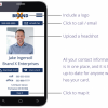 Stop Using Printed Business Cards. Get Your FREE Mobile Business Card. Picture